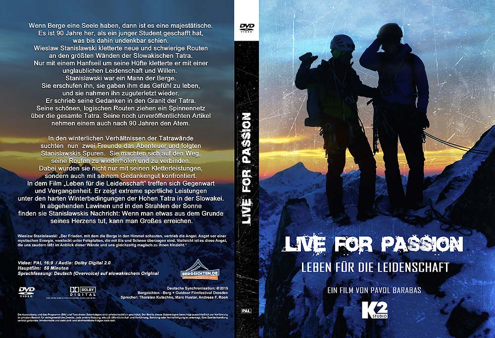 DVD Cover Live for Passion Foto©: K2 Studios / Bergsichten