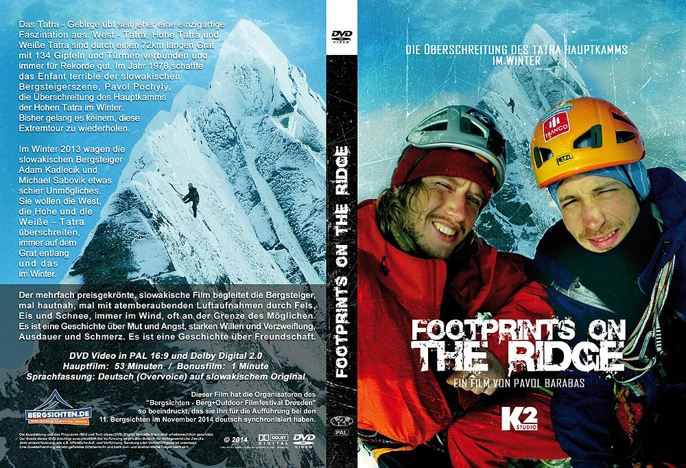 DVD Cover Footprints on the ridge Foto©: K2 Studios / Bergsichten