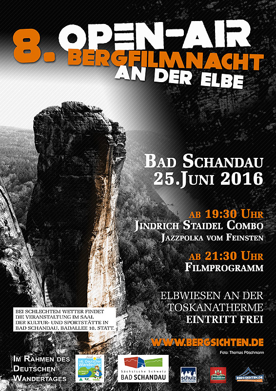 Open Air Bergfilmnacht in Bad Schandau Foto�:Thomas P�schmann
